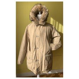 Woolrich-Woolrich Arctic Parka-Beige
