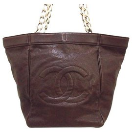 Chanel-Chanel tote bag-Brown