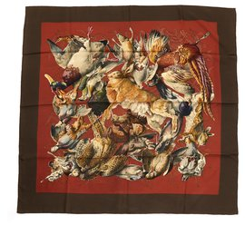 Hermès-BROWN KHAKI GAME-Multiple colors