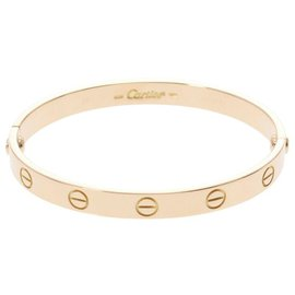 Cartier-Cartier bracelet-Golden