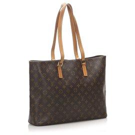 Louis Vuitton-Louis Vuitton Brown Monogram Luco-Brown