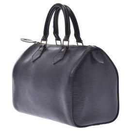 Louis Vuitton-Louis Vuitton Speedy 25-Black