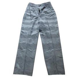 Dior-Pantalon droit Dior-Gris anthracite