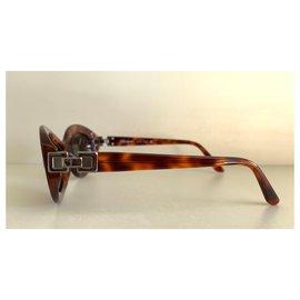 Yves Saint Laurent-Lunettes de soleil rétro YSL vintage-Marron