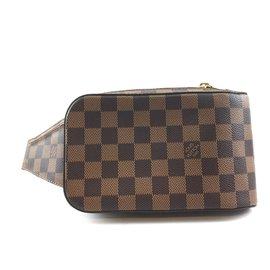 Louis Vuitton-Louis Vuitton Géronimos Damier Ebene Canvas-Brown