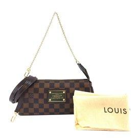 Louis Vuitton-Louis Vuitton Eva Damier Ébène Canvas-Brown