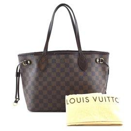 Louis Vuitton-Louis Vuitton Neo Neverfull PM Damier Ébène Canvas-Brown