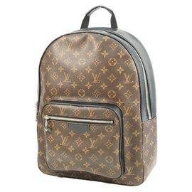 Louis Vuitton-Louis Vuitton Josh Backpack Mens ruck sack Daypack M41530-Other