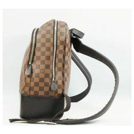 Louis Vuitton-Louis Vuitton Jake Backpack Mens ruck sack Daypack N41558 damier ebene-Damier ebene
