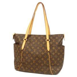 Louis Vuitton-LOUIS VUITTON Totally MM Womens tote bag M56689 Brown-Brown