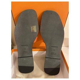 Hermès-Beautiful mules-Orange