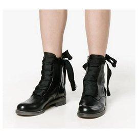 Chloé-Harper Ankle Boots-Black