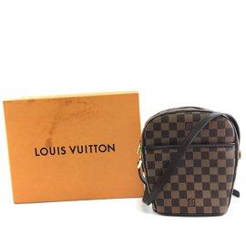 Louis Vuitton-Louis Vuitton Ipanema Damier Ébène Canvas-Brown