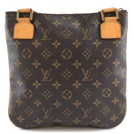 Louis Vuitton-Louis Vuitton Bosphore PM Monogram Canvas-Brown
