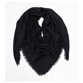 Louis Vuitton-Scarves-Black