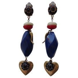 Dolce & Gabbana-Boucles d'oreilles-Multicolore