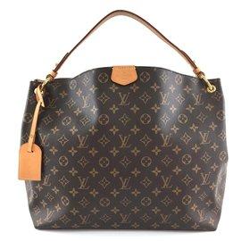 Louis Vuitton-Louis Vuitton Graceful MM Monogram Canvas-Brown