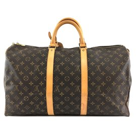 Louis Vuitton-Louis Vuitton Keepall 50 Monogram canvas-Brown
