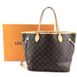 Louis Vuitton-Louis Vuitton Neo Neverfull MM Monogram Canvas-Brown