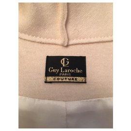 Guy Laroche-Manteaux, Vêtements d'extérieur-Blanc cassé