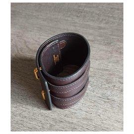 Hermès-Hermès cuff-Brown