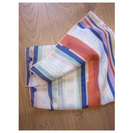 Chanel-Silk scarves-Multiple colors