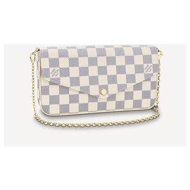 Louis Vuitton-LV felicie pochette new-Beige