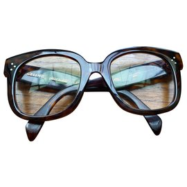 Céline-Montures lunettes Céline-Marron foncé