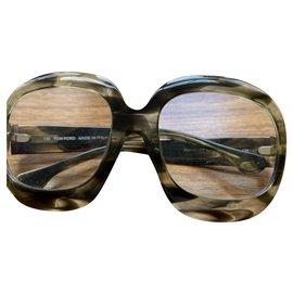 Tom Ford-Tom Ford glasses frames-Taupe