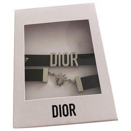 Dior-Bracelets-Noir