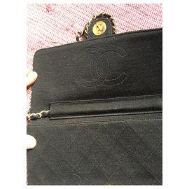 Chanel-Chanel vintage jersey-Black