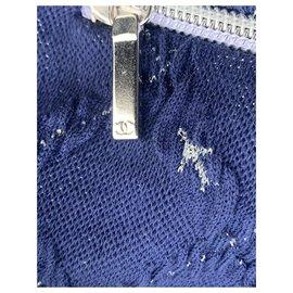 Chanel-Tricots-Bleu Marine