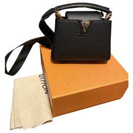 Louis Vuitton-Capucines mini-Black