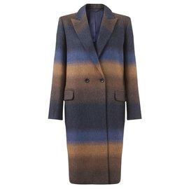 Jigsaw-Manteaux, Vêtements d'extérieur-Caramel,Bleu Marine
