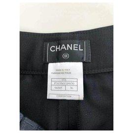 Chanel-Un pantalon, leggings-Noir