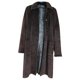 Dolce & Gabbana-Coats, Outerwear-Brown