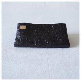 Louis Vuitton-Clutch bags-Black