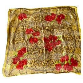 Dior-Scarves-Golden