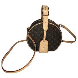 Louis Vuitton-PETITE BOITE CHAPEAU-Light brown,Dark brown