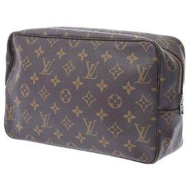 Louis Vuitton-Louis Vuitton Trousse de Toilette-Brown