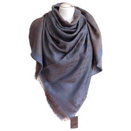 Gucci-Gucci stola shawl-Blue