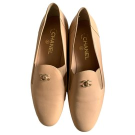 Chanel-Flats-Beige