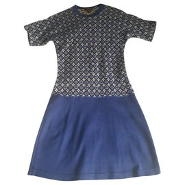 Louis Vuitton-Dresses-Blue