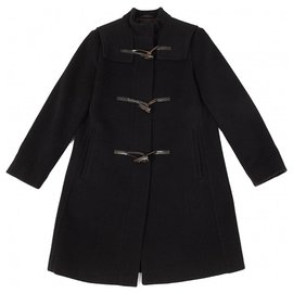 Burberry-Duffle-coat noir Burberry-Noir