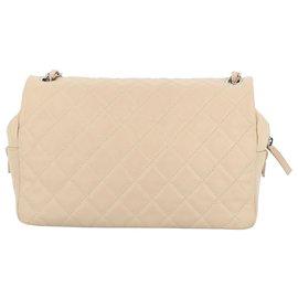 Chanel-Chanel flap bag-Beige