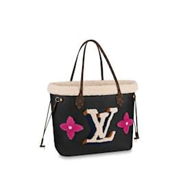 Louis Vuitton-LV Neverfull Teddy new-Black