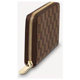 Louis Vuitton-LV Zippy wallet new-Brown