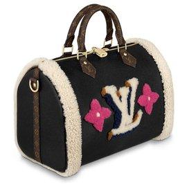 Louis Vuitton-LV Speedy Teddy new-Black