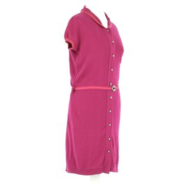 Louis Vuitton-robe-Fuschia