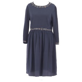 Vanessa Bruno Athe-robe-Navy blue